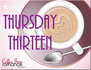 Thursday Thirteen: Who will you be kissing at Midnight?